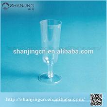 Vidro de vinho plástico descartável unbreakable original Eco-amigável de 6.5oz / 190ml 16g