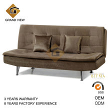 Chinese Furniture Velvet Fabric Recliner Chair Sofa (GV-BS114)