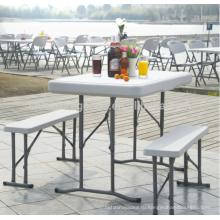 Недорогой Банкетный прочный HDPE пластиковые складной стол и стул наборы складной стол и стул наборы