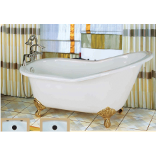 Deluxe Slipper Cast Iron Bathtub