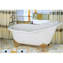 ديلوكس شبشب الحديد الزهر حوض الاستحمام