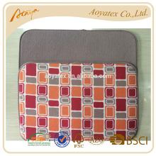 Figura geométrica impressa prato tapete de secagem com tecido terry sólido e super absorvente de água