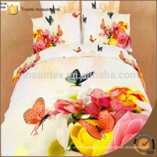 Bridal 3d printing bedding Wholesale Bedding set 100% cotton 3d bed linen