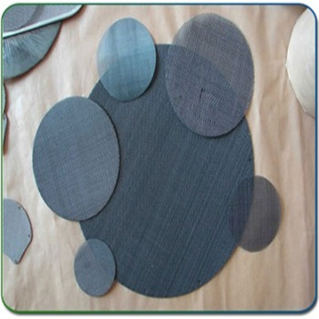 Dalam Stok Black Wire Cloth Filter Disc
