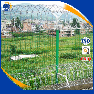 PVC coated galvanized stainless steel barbed wire