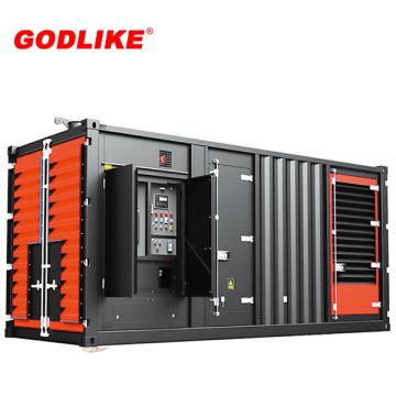 Генератор 1000kva /800kw комплект генератора CUMMINS Молчком Тепловозный (KTA38-G5) и с CE / ИСО