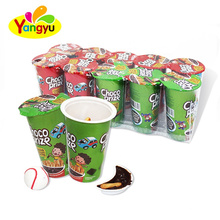 Halal Biscuit Chocolate Cup With Funny Toy