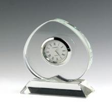 Horloge de table en cristal pour cadeau d'affaires (ks54023)