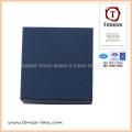 Plain Blue Art Paper Watch Gift Cardboard Box