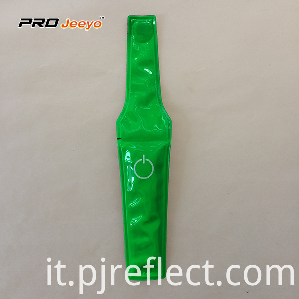 Reflective High Visibility Warning Pvc Green Magnetic Clipcj Ccj004