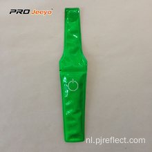High Viz Warning Pvc Green magnetische clip