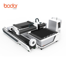 China Bodor looking for distributors 2000w carbon steel square pipe and metal sheet making / fiber laser tube cutting machine