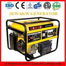 Gerador da gasolina da alta qualidade 6kw para o uso home com CE (SV15000)
