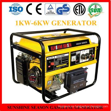 Generador de gasolina 6kw para uso doméstico con CE (SV15000)