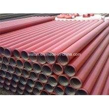 Dn125mm * 4,5 mm * 3000mm Betonpumpe Rohre für Boom Pumpe