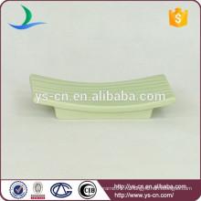 YSb50056-01-sd промотирование зеленая керамика ванна мыльница продукты