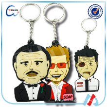 Custom Design rubber keyring