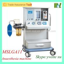 MSLGA11 2016 Neue medizinische Beatmungsmaschine mit Vaporizer Best Anästhesie Ventilator Preis
