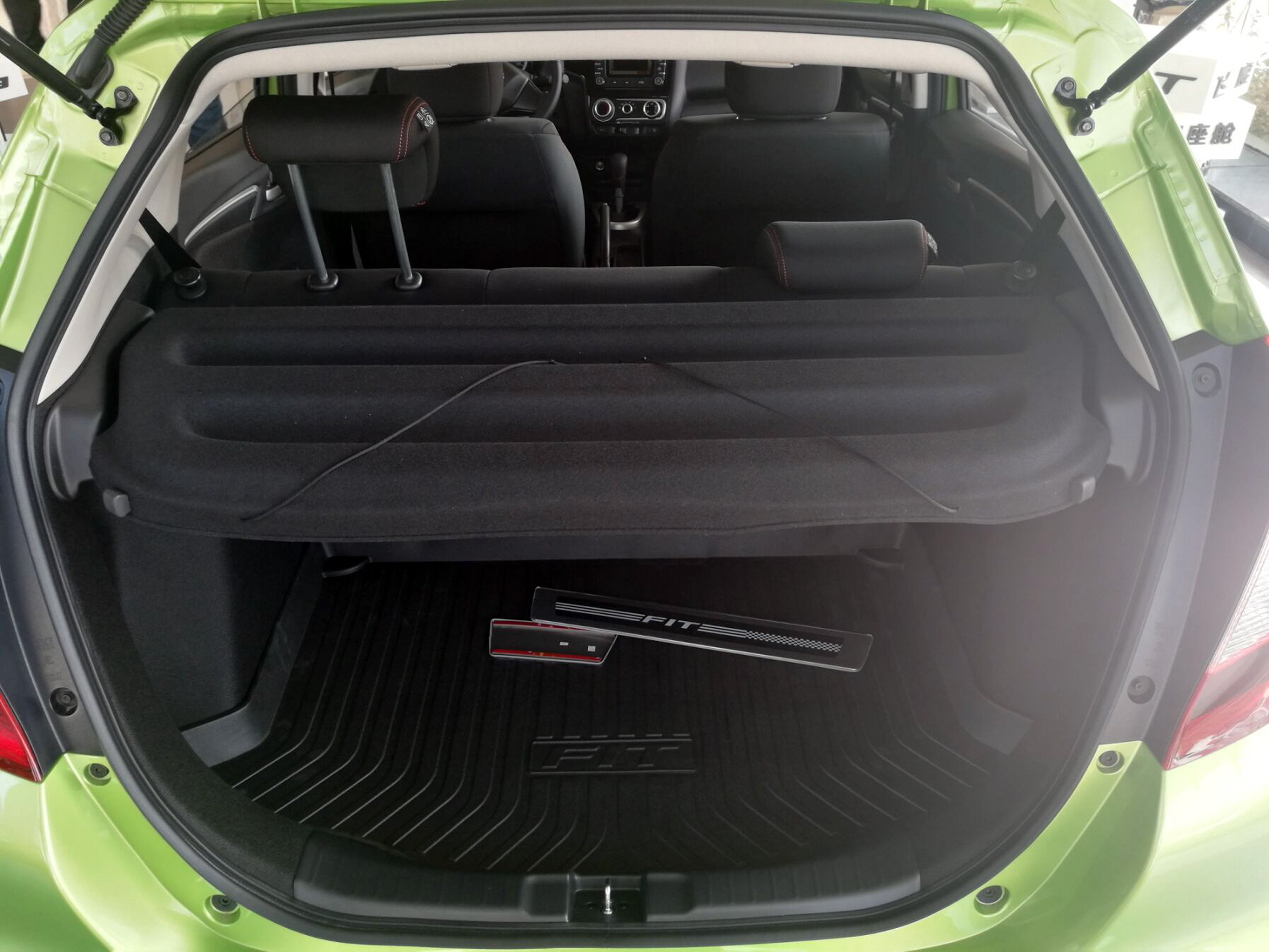 15 Honda Fit Cargo Cover