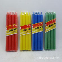 38grams Tall Stick White Color Candle for Ghana