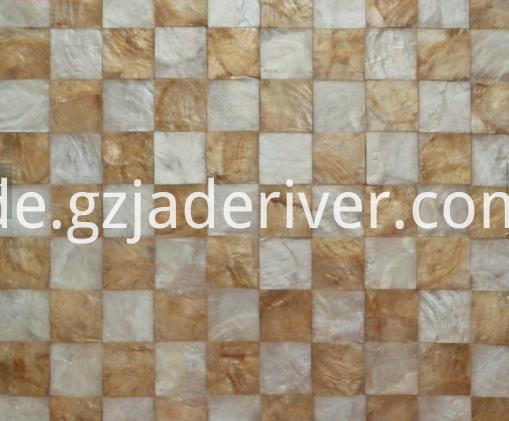 mosaic stone yellow