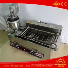 T101A Electric with Gas Full Stainless Steel Mini Donut Machine