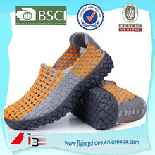 Porzellan Fabrik handgefertigte elastische gewebte Schuhe