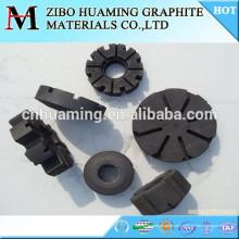 rotor de grafito y eje para desgasificación y fundición de aluminio