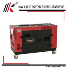 Prix diesel de générateur diesel diesel de 3 phases diesel de petit moteur diesel silencieux d'énergie électrique en Afrique
