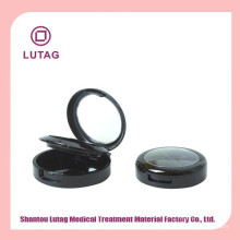 Cosmetic wholesale Cheap powder case with puff