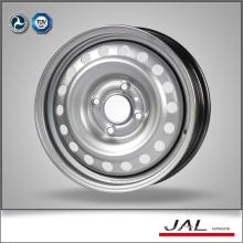 Factory Supply High Precision 6x15 Silver Car Rims Wheels with 5 Lug