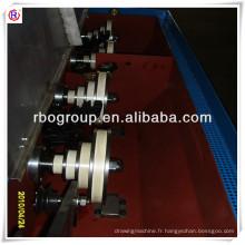 Machine de cuivre de tréfilage intermédiaire 17DS(0.4-1.8) engrenages type haute vitesse (machine de drowing multi fil)