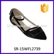 Hotselling confortable Mädchen flache Schuhe Mode Dame Schuh Dame Mode Schuh