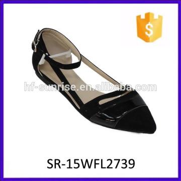 Hotselling confortable girl flat shoes fashion lady shoe lady fashion shoe