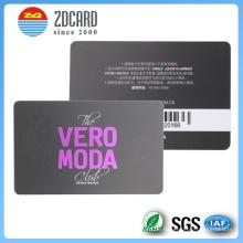 Kundenspezifische PVC-transparente klare Magnetkarte
