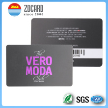 Customized PVC Transparent Clear Magnetic Card