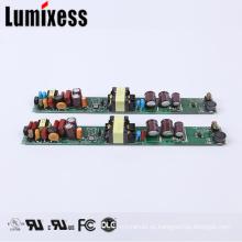 UL certificado Triple canal regulable 450mA 40w llevó los controladores de iluminación