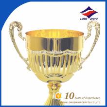 Trophée promotionnel en gros en métal d'or en métal Trophée