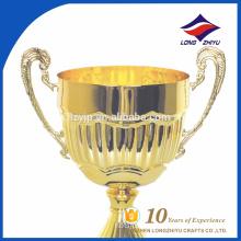 Unique Promotional Wholesale Gold Metal Cups trophy High-end metal trophy cup trophies