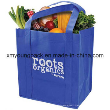 Extra Large Custom Non Woven Reusable Grocery Tote Bags