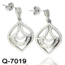 Очаровательная мода 925 Серебряные серьги (Q-7019)