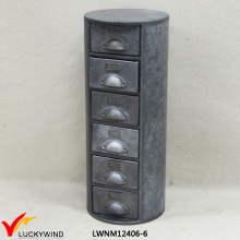 Wholesale Galvanized Cylinder Jewellery Metal Storage Cabinet