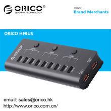 ORICO HF9US 9-Ports USB2.0 HUB mit 2 Port Aufladung