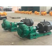 Pompe centrifuge chimique horizontale en acier inoxydable IHF