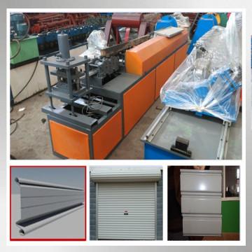 Obturador puerta marco frío máquina formadora de rollos