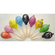 Wooden Music Toy Maracas (81064)