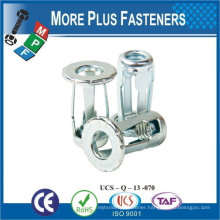 "Made in Taiwan Screw Blind 1/4""-20 Thread Jack Nuts .919 Length"