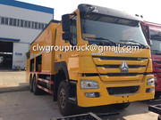 SINOTRUCK HOWO 6x4 Slurry Seal caminhão