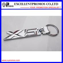 Llavero de metal personalizado para cadena dominante al por mayor (EP-K58304)