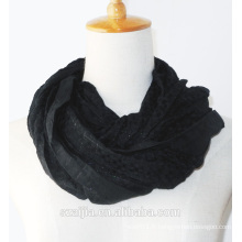 Fashion new lady solid brillant écharpe longue